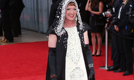 Grayson Perry at the TV Baftas