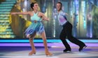 Dancing on Ice: Beth Tweddle and Daniel Whiston Photograph: Matt Frost/ITV/Rex Features