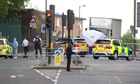 Woolwich attack crime scene Photograph: Alastair Grant/AP