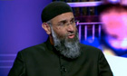 Anjem Choudary on BBC2's Newsnight