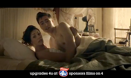 Phones 4U Films on 4 sponsorship ad