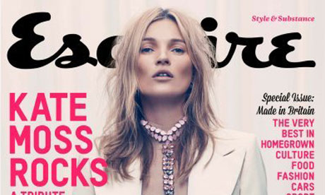 Kate Moss - Esquire cover