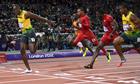 London 2012 100m final