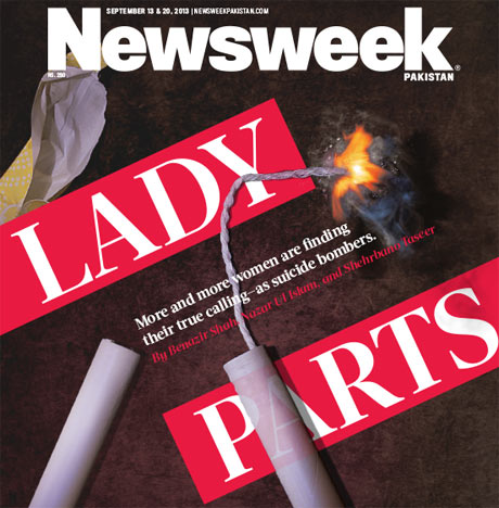 Newsweek Pakistan 'dynamite' cover