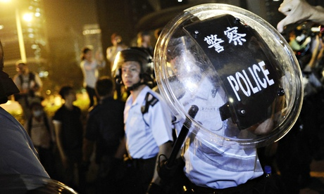 China has blocked the BBC website as protests in Hong Kong continue