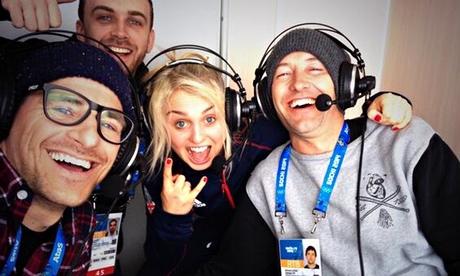 Sochi 2014: Tim Warwood, Aimee Fuller and Ed Leigh