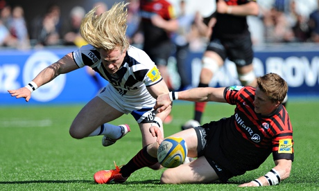 The Sun and Times's first Aviva Premiership rugby clips will be of the Saracens v Bath clash