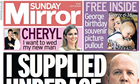 Sunday Mirror- July 2014