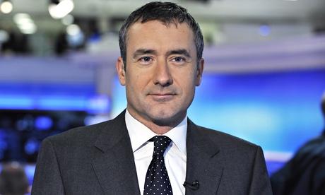 Colin Brazier in the Sky News studio