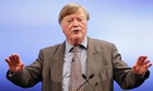 Ken Clarke waving his hands