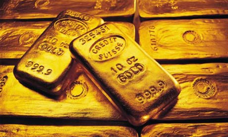 gold. Gold bars