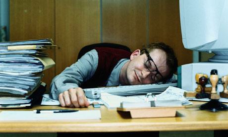 Low energy sleeping at work
