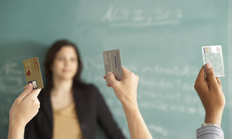 Teaching student finance (Photo: Guardian)