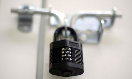 A combination padlock