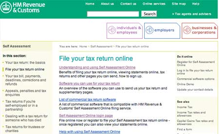 self assessment property tax form for downloading