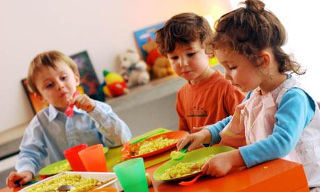 Children at pre-school nursey