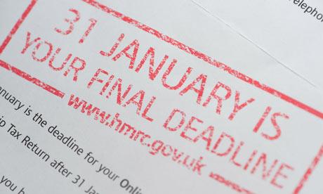 self assessment paper return deadline