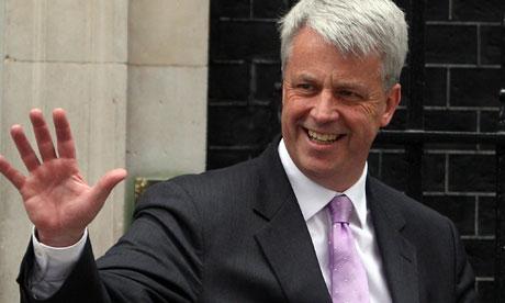 Andrew Lansley Health Secretary