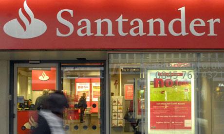 A Santander branch