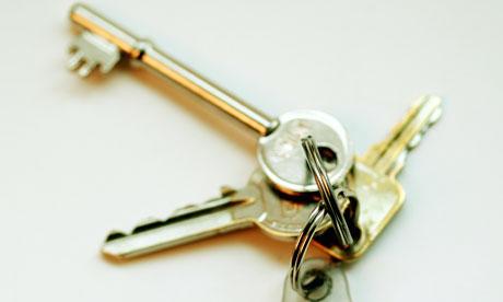 A set of house keys