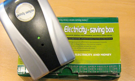 Trading standards says the 'energy saving' plug-ins do not save users money and could in fact be a fire risk.