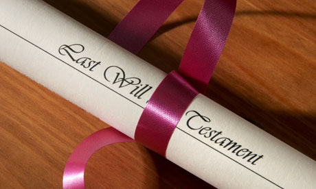 how to write a last will