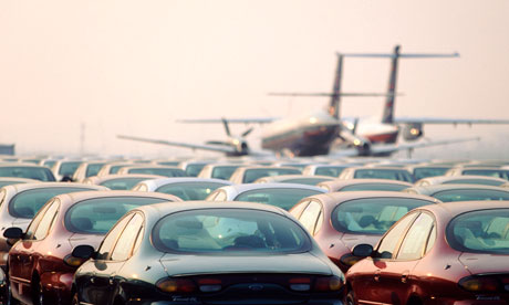 Airports: Where to park and not get taken for a ride