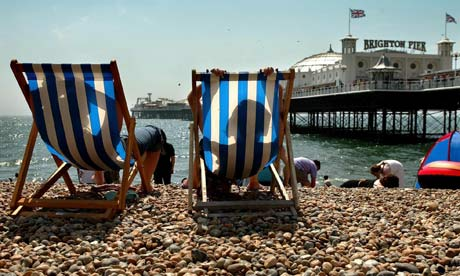 Middle Britons to forgo holiday abroad, at destinations such as Brighton