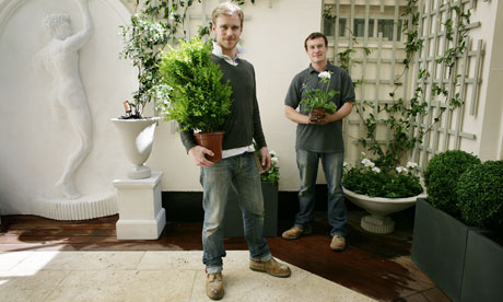 A working life: The landscape gardeners | Money | The Guardian