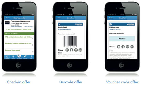 Quidco mobile app