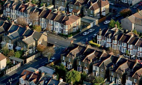 Aerial houses: Mortgage lending up in June, says CML