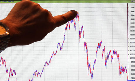 Madrid stock market drops below 2009 level