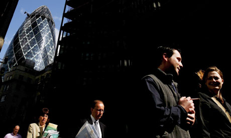 London's iconic Gherkin building