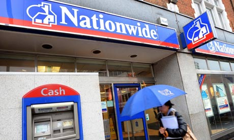A shot from outside a Nationwide building society branch