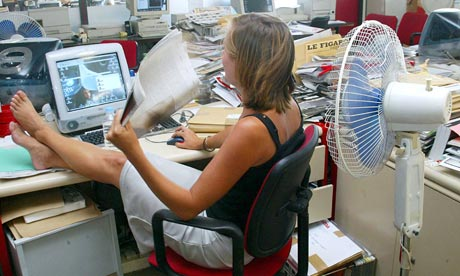 Hot under the collar: employee rights in soaring temperatures