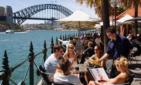 how to get a job overseas from australia