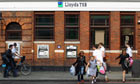 Lloyds TSB Announces First Quarter Loss