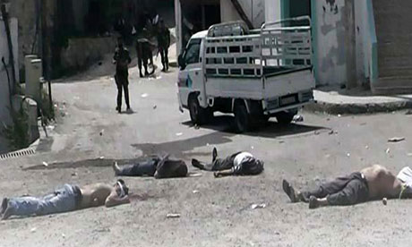 Syrian massacre