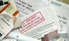 Some tax return papers with the 31 January deadline