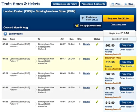europe train tickets