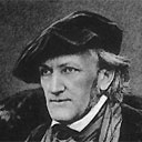 Richard Wagner in a jaunty cap