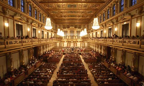 Tom service on why the sound of the musikverein in vienna for Wohndesign pure vienna 2014