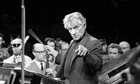 Leonard Bernstein, Royal Albert Hall, 1972