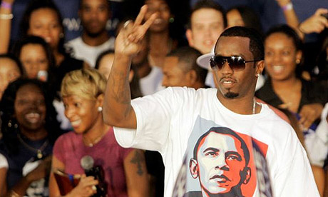 P Diddy favours Barack Obama