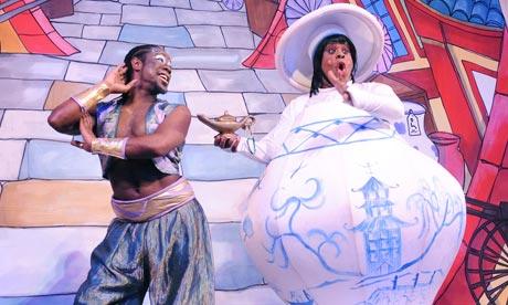 Aladdin at the Hackney Empire