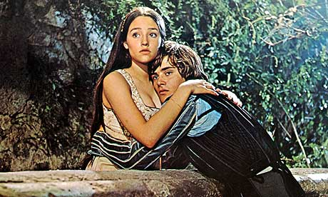 Romeo and Juliet starring Olivia Hussey and Leonard Whiting