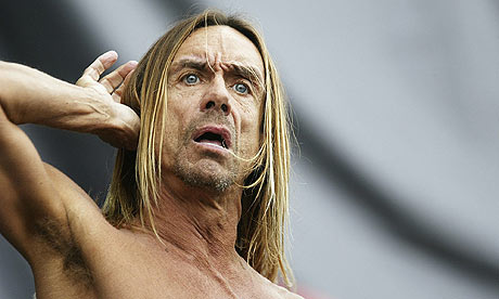 Iggy Pop of the Stooges