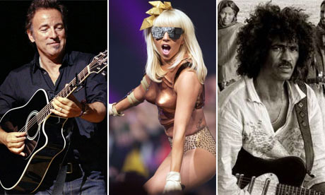 Glastonbury Blog Composite The Boss, Lady Gaga and Tinariwen are just three