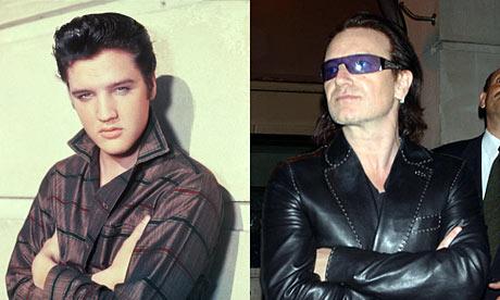 Bono's poem Elvis: Ame...