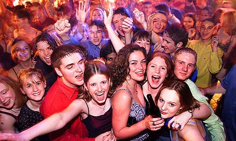 Clubbing in Manchester